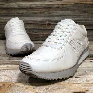 Michael Kors White Lace Up SneakerWomen 8